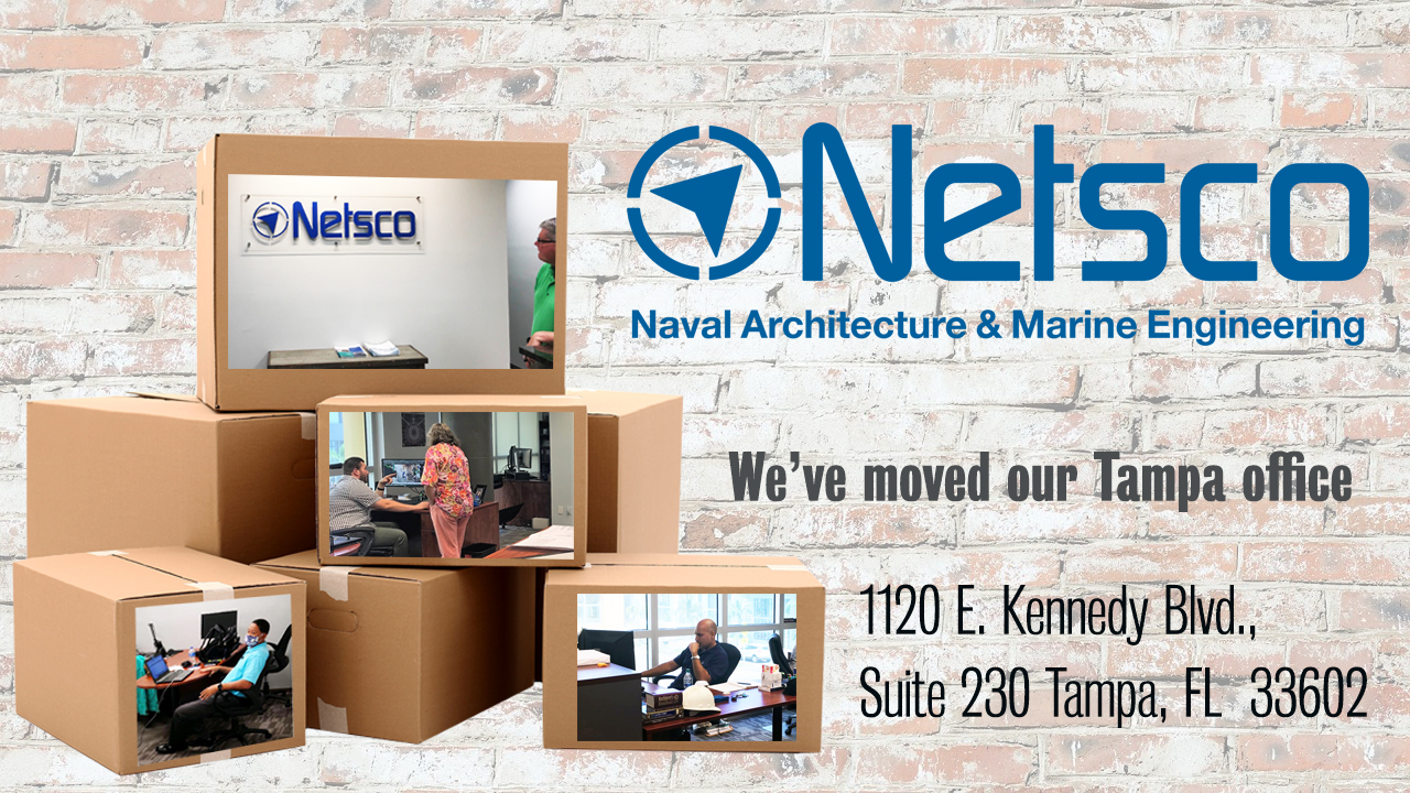 Postcard of new NETSCo office address